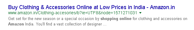 brand name in title tag