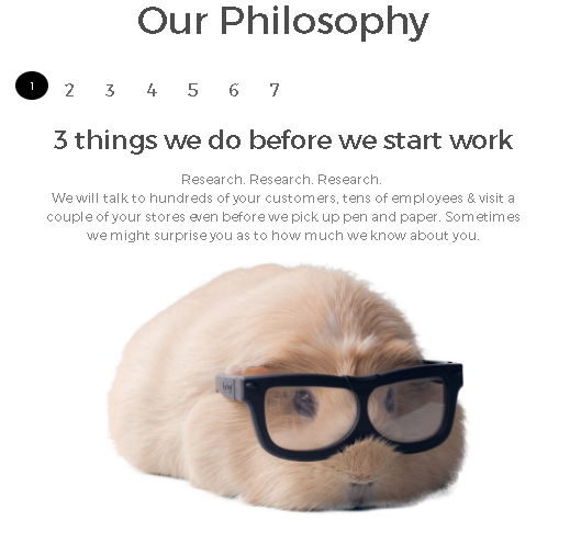 Our philosophies - Original